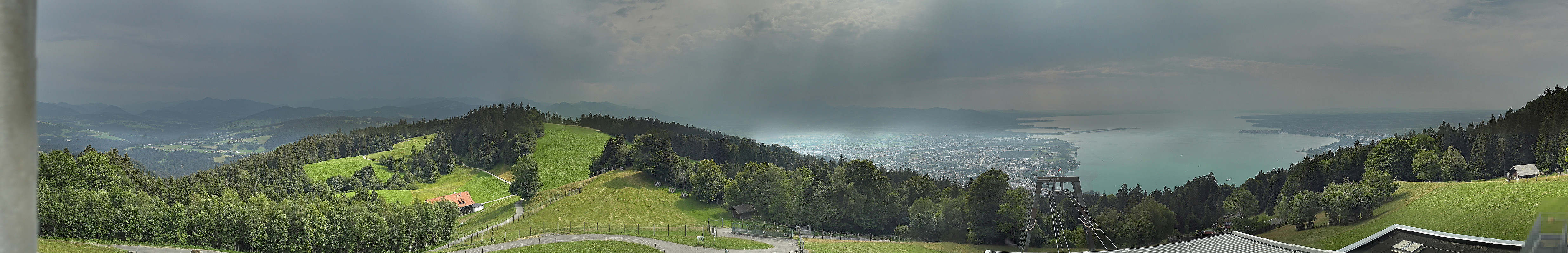Bregenz Pfänder (Blick von der Bergstation)